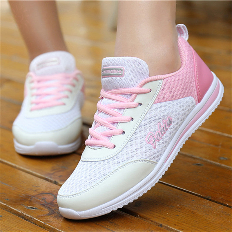 e98c97daebee Woman casual shoes Breathable 2018 Sneakers Women New Arrivals Fashion –  Beal