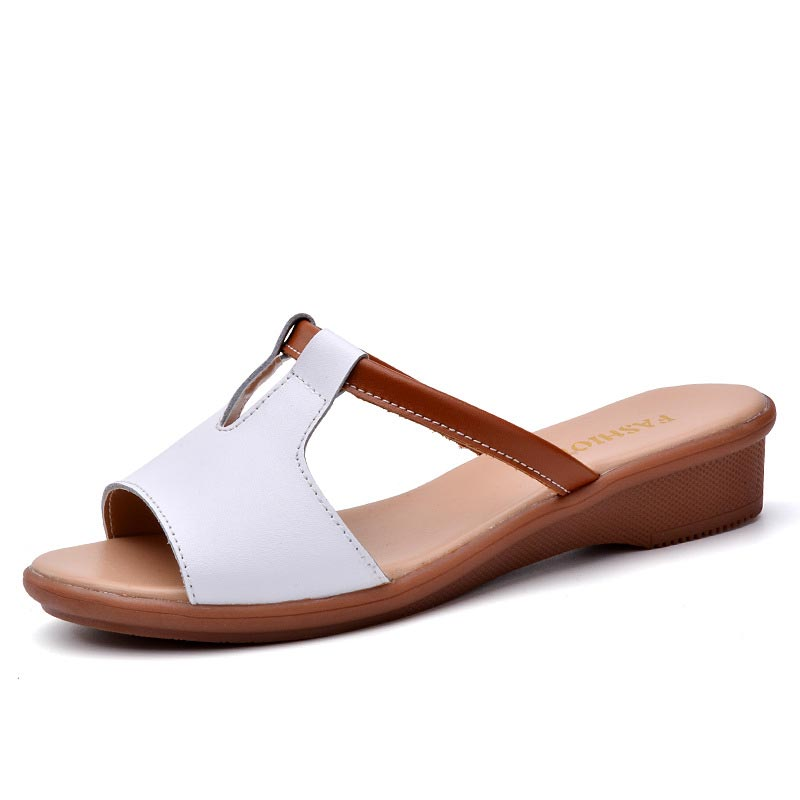 31b31a4eb Women sandals 2018 fashion sandals women shoes open toe casual wedge shoes  woman new beach flats sandals zapatos mujer – Beal