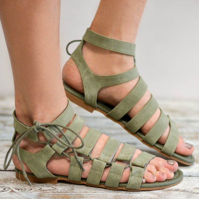 fd28f528e09 Women sandals 2018 gladiator summer women sandals new style casual summer  shoes woman beach flat sandals ladies shoes Plus Size – Beal