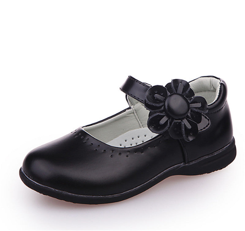 Xinfstreet Girls Shoes Leather Flower