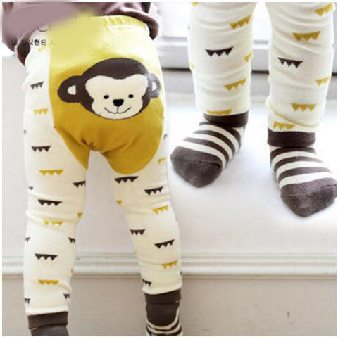 c136e09c5cc661 adorable baby girls leggings,children cotton animal print legging ...