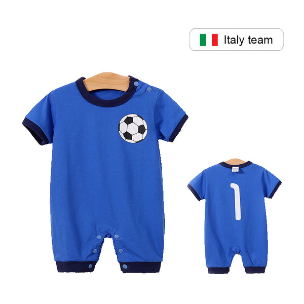 Blue Soccer Clothing