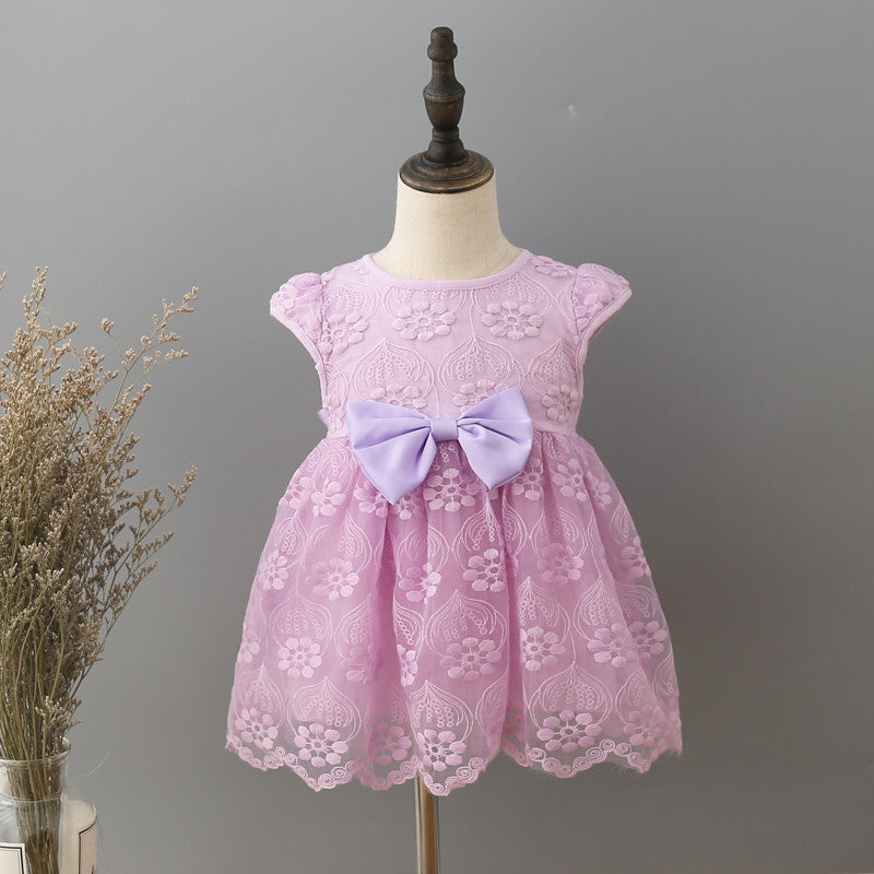 af1145ac47bf infant clothes girl summer baby girls dress Kids white first ...