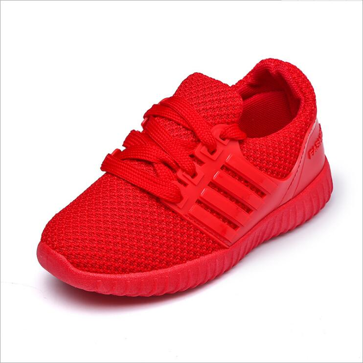 ac8dad4e kids shoes Children knitted fabric breathable running shoes Mesh Casual  Girls Shoes Girls Boys