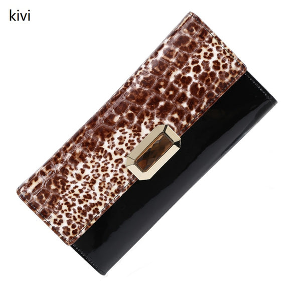 kivi women wallets genuine leather coin purse famous brand long womens purses luxury brand real leather wallet