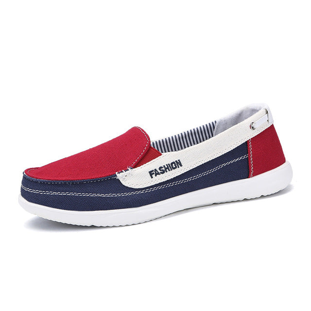 ffe3ae0a5ad EOFK Women Canvas shoes Woman Ladies Casual shoes Lady loafers Women s –  Beal