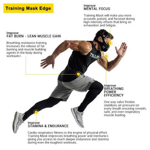 Dragon 78 Workout Mask Ultimate X 24-Level Altitude Elevation Simulating Oxygen Resistance Training for Running Jogging MMA Athletic Fitness Exercise