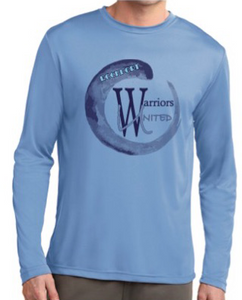 Rockport Warriors United long sleeve Blue Shirt