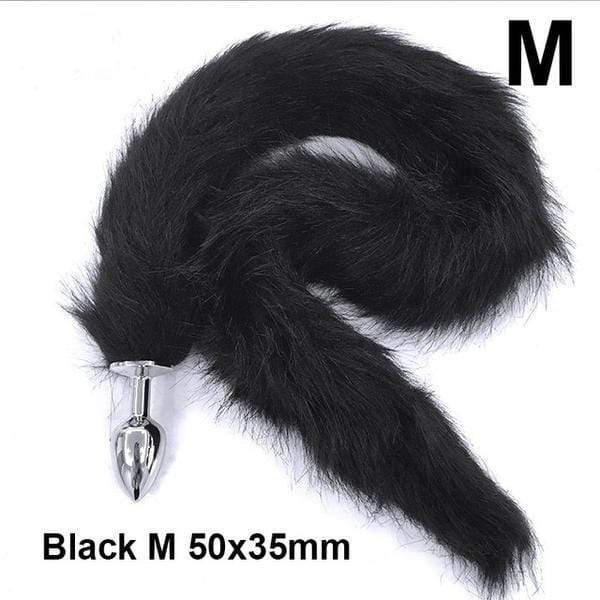 "27"" Long Fox Tail Plug"
