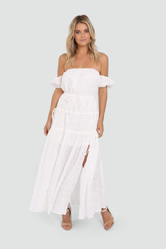 Chyna Maxi Dress - White