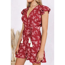 TAMARA PLAYSUIT TERRACOTTA