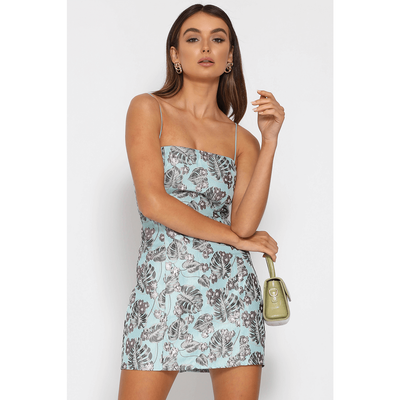 Elodie Dress - Pale Blue