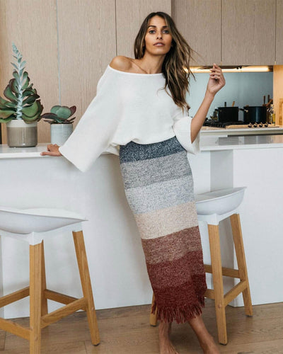 Jayne Knit Midi Skirt