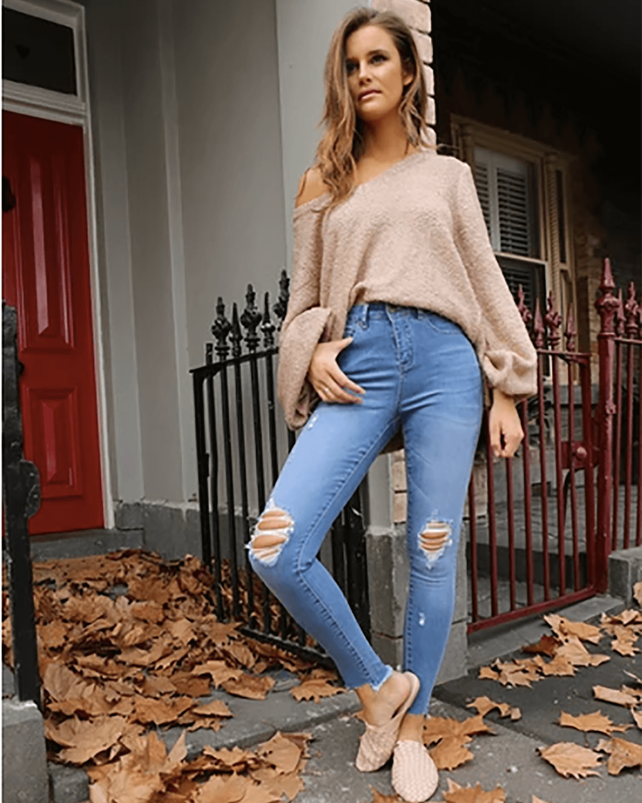 Cindy Sweater - Dusty Caramel