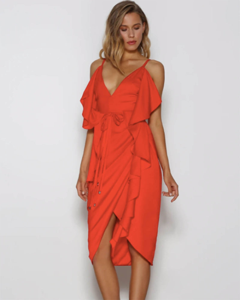 Thrillseeker Midi Dress -  Lust SPECIAL PRICE!