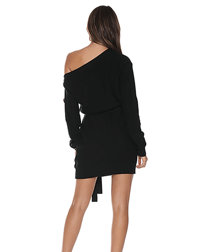 Saskia Knit Dress - Black