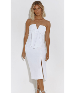 Dreamers Midi Dress -  White