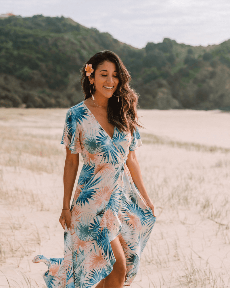 Kailani Wrap Dress