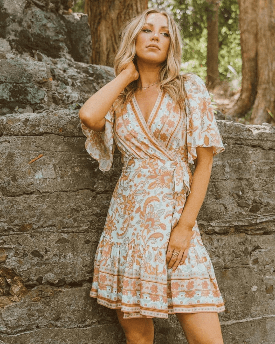 Bella Wrap Dress