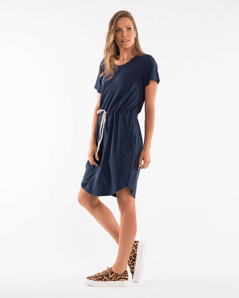 Elm Harper Dress - Navy