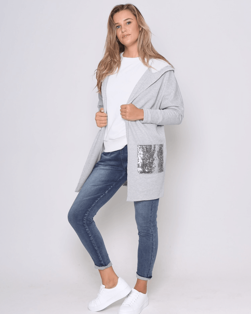 MJ Sparkle Jacket - Grey