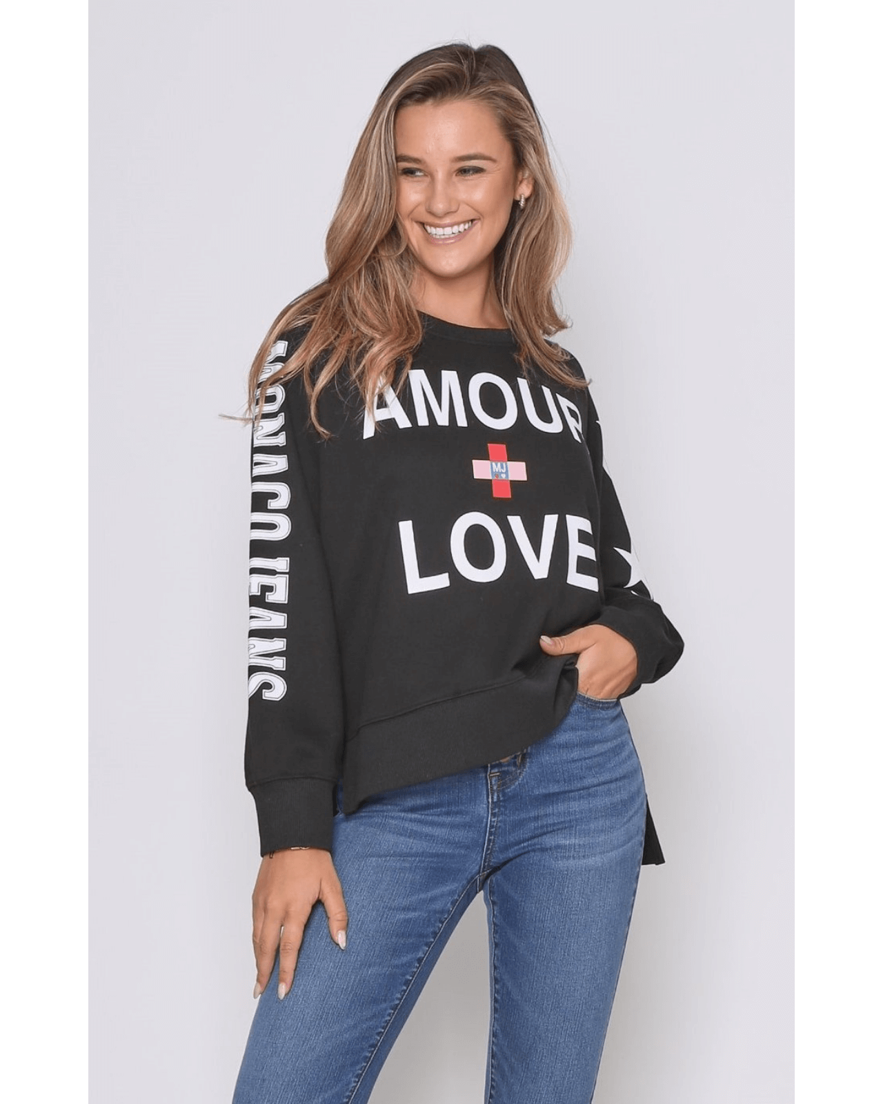 Love Sweater - Black