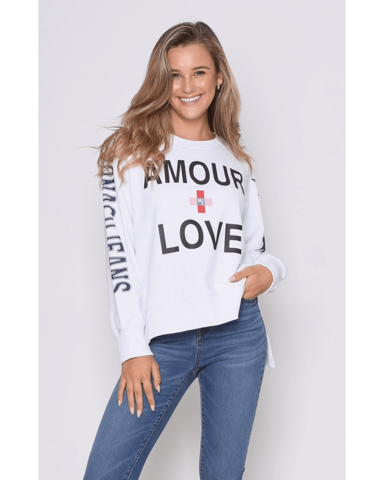 Love Sweater - White