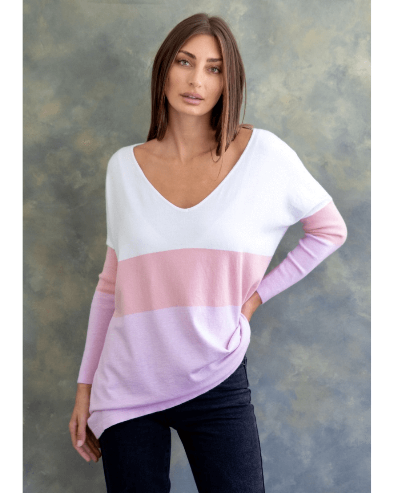 Larissa Knit Top - Lollypop