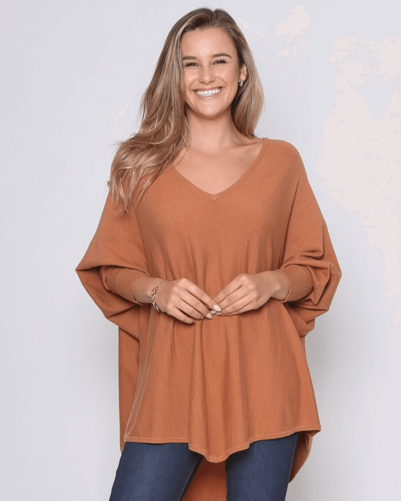 Zali Knit Top - Caramel