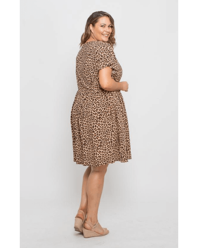 Catie Dress Leopard