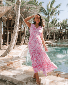 Desert Summer Maxi Dress