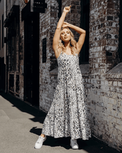 Ella Maxi Dress - Snow Leopard