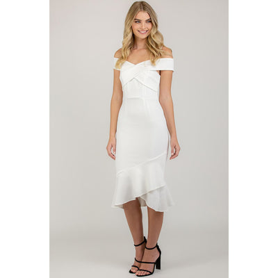 Winona Dress - White