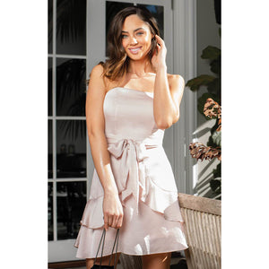 Veronica Dress - Champagne