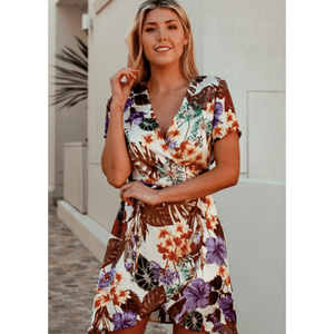 Island Dreams Wrap Dress