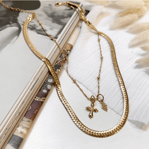 Ariat Layer Necklace - Gold