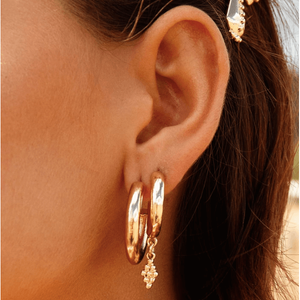 Darling Hoops - Gold