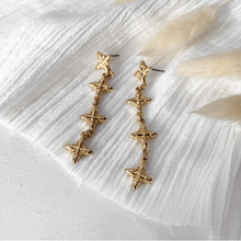 Mahla Drop Earrings - Gold