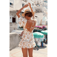 Marigold Dress - White Floral