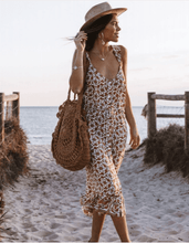 Indian Summer Midi Dress - Natural