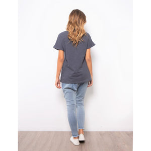 NYC Tee - Gunmetal Grey
