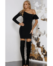 Trixie Knit Dress - Black