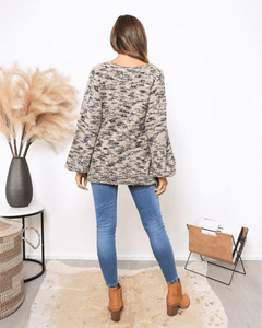 Cindy Sweater - Mixed Beige