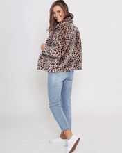 Lorena Jacket - Blush Mocha Cheetah