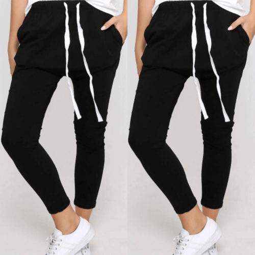 Joggers Two Pair Bundle - Jade Black Only