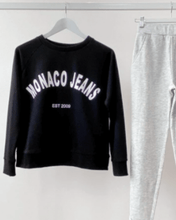 Monaco Luxe Sweater - Black