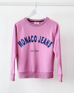 Monaco Luxe Sweater - Rose