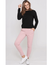 Leoni Luxe Lounge Pants - Blush