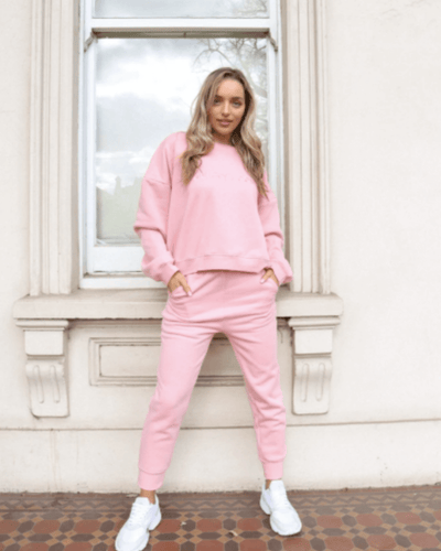 Society Lounge Sweat - Pink