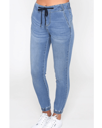 Heidi Joggers - Denim Wash